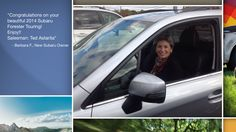 Dear Barbara Feldman   A heartfelt thank you for the purchase of your new Subaru from all of us at Premier Subaru.   We're proud to have you as part of the Subaru Family.