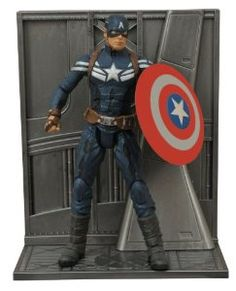 Diamond Select Toys Marvel Select: Captain America 2: Captain America Action Figure - available at http://www.yutoys.com