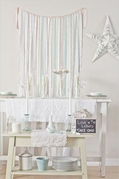 check out weddingchicks I love their stuff - this is simple for any party and so sweet