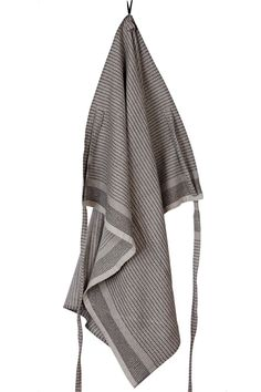 """homme cooking cloth + apron — a fine offering for use in the indoor or outdoor kitchen.dubbed as """"the man cloth"""". this piece is a true viking in the kitchen! Gardening Apron, Perfect Gift For Him, Kitchen Linens, Decorative Accessories, Personalized Gifts, Hand Weaving, Unique Gifts, Black And Grey, Cooking"""