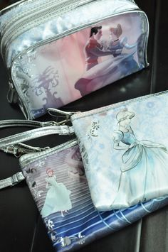 LONDON SOHO NEW YORK® and Walgreens Cinderella Cosmetic Bags