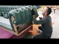 GABBA KOLTUK FABRİKASININ GÜNLÜK ÇALIŞMA FAALİYETLERİ - YouTube Bed Headboard Design, Sofa Bed Design, Living Room Sofa Design, Bedroom Decor Lights, Diy Bedroom Decor, Upholstered Furniture, Bed Furniture, Tufted Sofa, Diy Furniture Easy