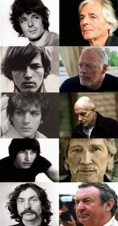 Pink Floyd Then and Now