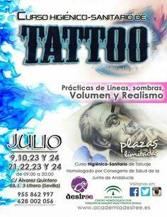 Curso Higiénico Sanitario de Tatuaje