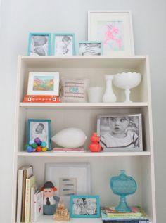 styling your bookshelves