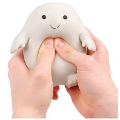 Doctor Who Adipose Stress Toy hahahahaha my dog would try to eat this but it's so funny.