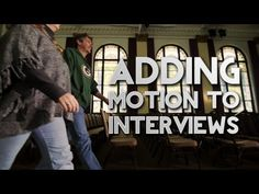 Want to add motion to your video interviews? Check out this video tutorial! http://motionvfx.com/B2674