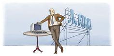 """Martin Karcher: Illustration zum Blog-Artikel """"Der Jackintosh: als der Atari ST der bessere Mac war – Teil 1"""""""