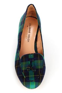 Preppy Plaid Flats
