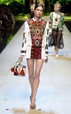 The collection was a reiteration of the Dolce & Gabbana formula, just more feisty.