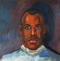 head painting Portrait, Artist, Painting, Headshot Photography, Artists, Painting Art, Portrait Paintings, Paintings, Painted Canvas