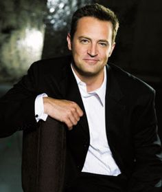 Matthew Perry - love this guy! One of the funniest and underrated actors on TV.