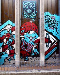 PticaLica / Čavketov pasaž #BeogradskiGrafiti #StreetArt #Graffiti #Beograd #Belgrade #Grafiti
