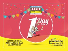 'Just 1 Day ' to go for Celebrations & Pixellence Awards Ceremony.