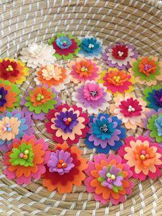 Little flower felties