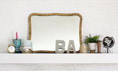 DIY: stoere betonnen letters ter decoratie