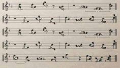 ♫ Amor ao som de uma melodia…
