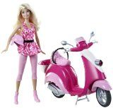 Barbie Glam Scooter And Doll