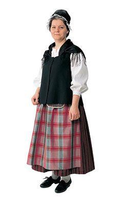 lappeen naisen kansallispuku Folk Costume, Costumes, Folk Clothing, Traditional Dresses, Finland, Midi Skirt, Dressing, Skirts, Clothes