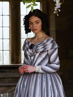 Imogen Poots as Blanche Ingram in Jane Eyre (2011). - c.1840