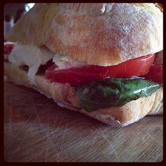 Tomato Basil Sandwich from Le zinque - Venice, CA