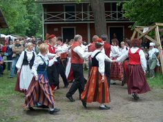 Finnish folk dancing