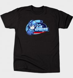 Blue Bombers T-Shirt - Mega Man T-Shirt is $12 today at Busted Tees!