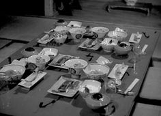 a meal from Mikio Naruse's Repast, 1951