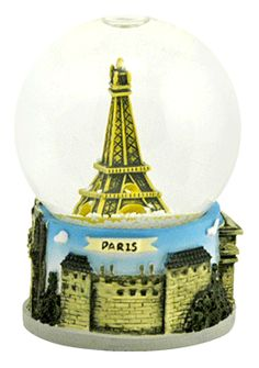 Paris - Eiffel Tower snow globe