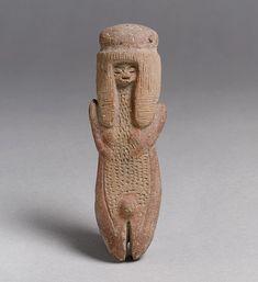 Figure Date: 2200–2000 B.C. Geography: Ecuador Culture: Valdivia Medium: Ceramic