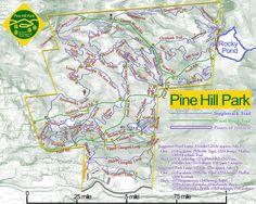 Pine Hill Park Rutland, VT MTB Trails