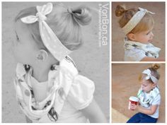 Playdates and Pearls   featuring VONBON Children's Organic Cotton Cowl and Headband   Dec 5, 2013