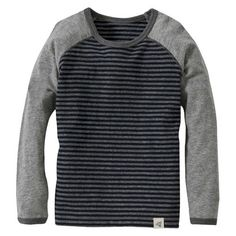 Burts Bees Baby™ Toddler Boys' Long Sleeve Striped Tee