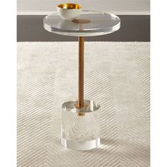 John-Richard Collection KASO MARTINI SIDE TABLE (3,895 SAR) ❤ liked on Polyvore featuring home, furniture, tables, accent tables, gold, handmade tables, hand made furniture, martini side table, martini table and handcrafted tables
