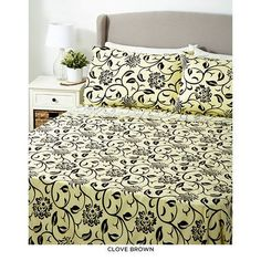 6-Piece Set: Glory Home Printed Sheets - Assorted Colors at 57% Savings off Retail!