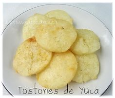 Los Inventos de Lisa: Tostones de Yuca