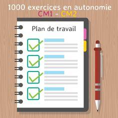 Retrouvez tous les exercices de plan de travail au format numérique, et proposez des plans de travail personnalisés avec suivi des résultats sur classe-numerique.fr  Voici les fiches de mon p…