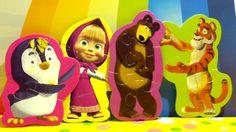Смотреть мультики Маша и Медведь распаковываем сюрпризы из пакетиков Mas...