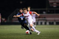 John's improved its record to with a win over Mount St. Mary's at Belson Stadium Tuesday night in men's soccer action. College Soccer, Past, Running, Sports, Men, Hs Sports, Past Tense, Keep Running, Why I Run