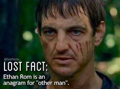 """ethan is a creepy """"other man"""" #lost #losttv #lostabc #lostshow #lostseries #losttvshow #losttvseries #lostfact #ethanrom #williammapother"""
