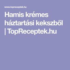 Hamis krémes háztartási kekszből | TopReceptek.hu