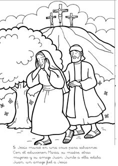 Adam And Eve Colouring Page For Arrival Activities Snack