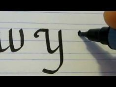 Online Calligraphy lessons  - learn calligraphy Online Lessons Part 9