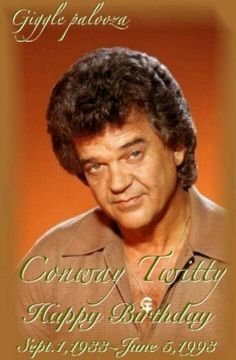 Conway Twitty Met Conway,Love Field Airport,Dallas,Tx. Was gracious man. Friends with my Mom & Step~Dad. ~Kelli~