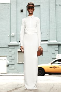 Givenchy   Resort 2012 Collection   Joan Smalls Modeling   Style.com