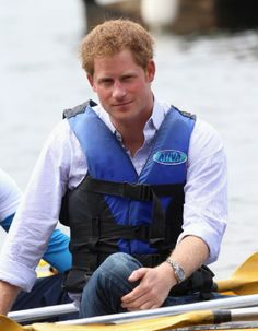 Prince Harry takes part in a canoe therapy session on Lake Paranoa, 23.06.2014 in Brasilia, Brazil. Prince Harry is on a four day tour in Brazil that will be followed by two days in Chile.
