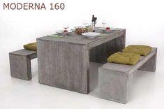 Möbel aus Faserbeton sind lange nicht so schwer wie sie aussehen!