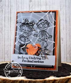 Stacey Schafer: Stacey's Stamping Stage: Sugar Pea Designs Sweet Sneak - Undying Love - 9/9/14