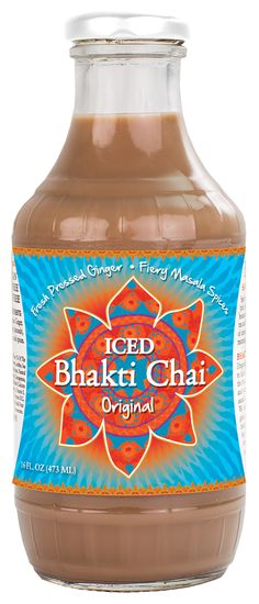 The spicy sweet flavor of Bhakti Chai goes nicely with our spicy sweet Carrot Ginger Veggie-Go's!