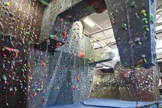 Brooklyn Boulders. This stalactite is my favorite place to start.